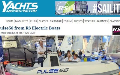 Yachts&YachtingOnline – Pulse58 from RS Electric Boats