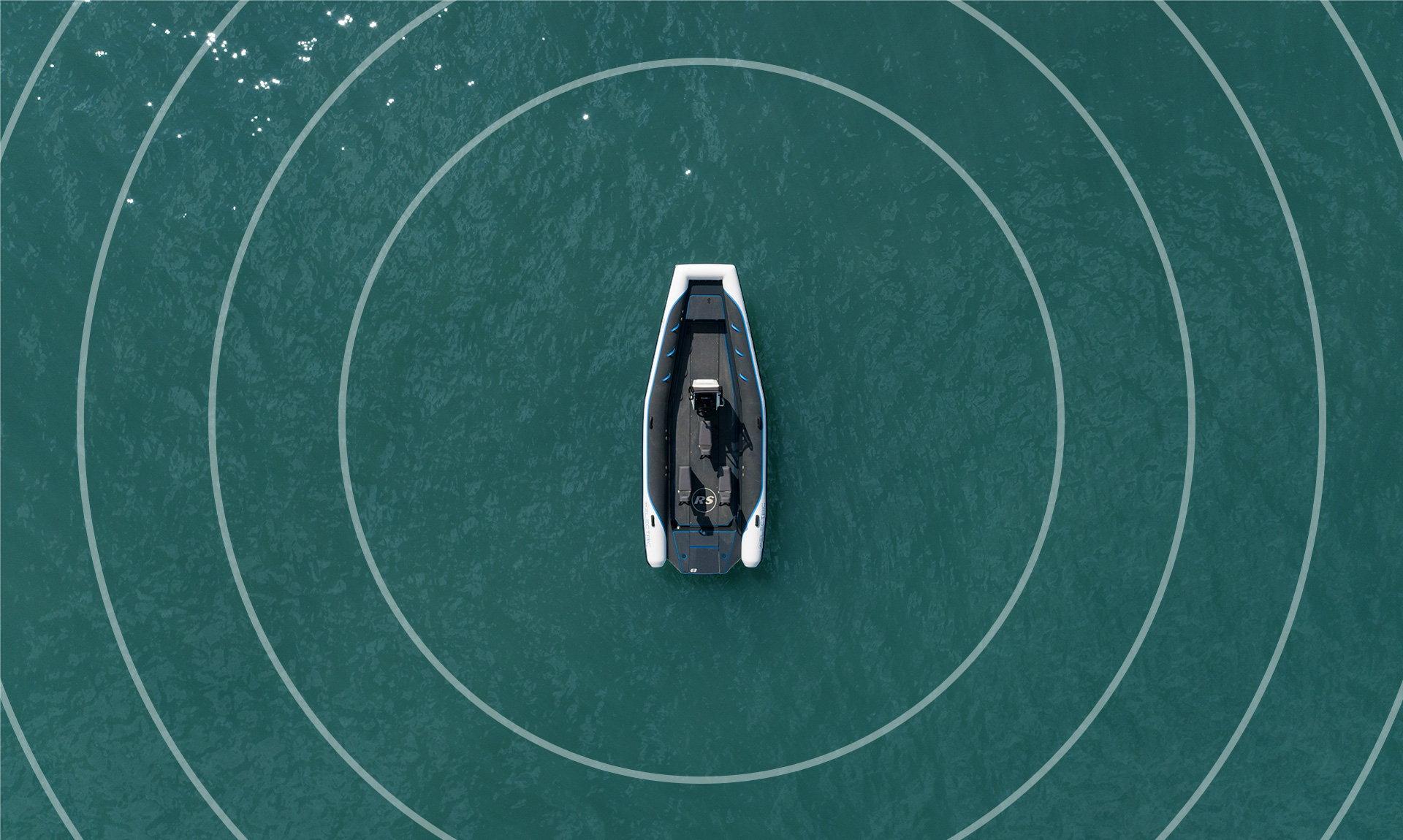 Electric Boat - Pulse 63 RIB - RS Electric Boats - PULSE Sensors