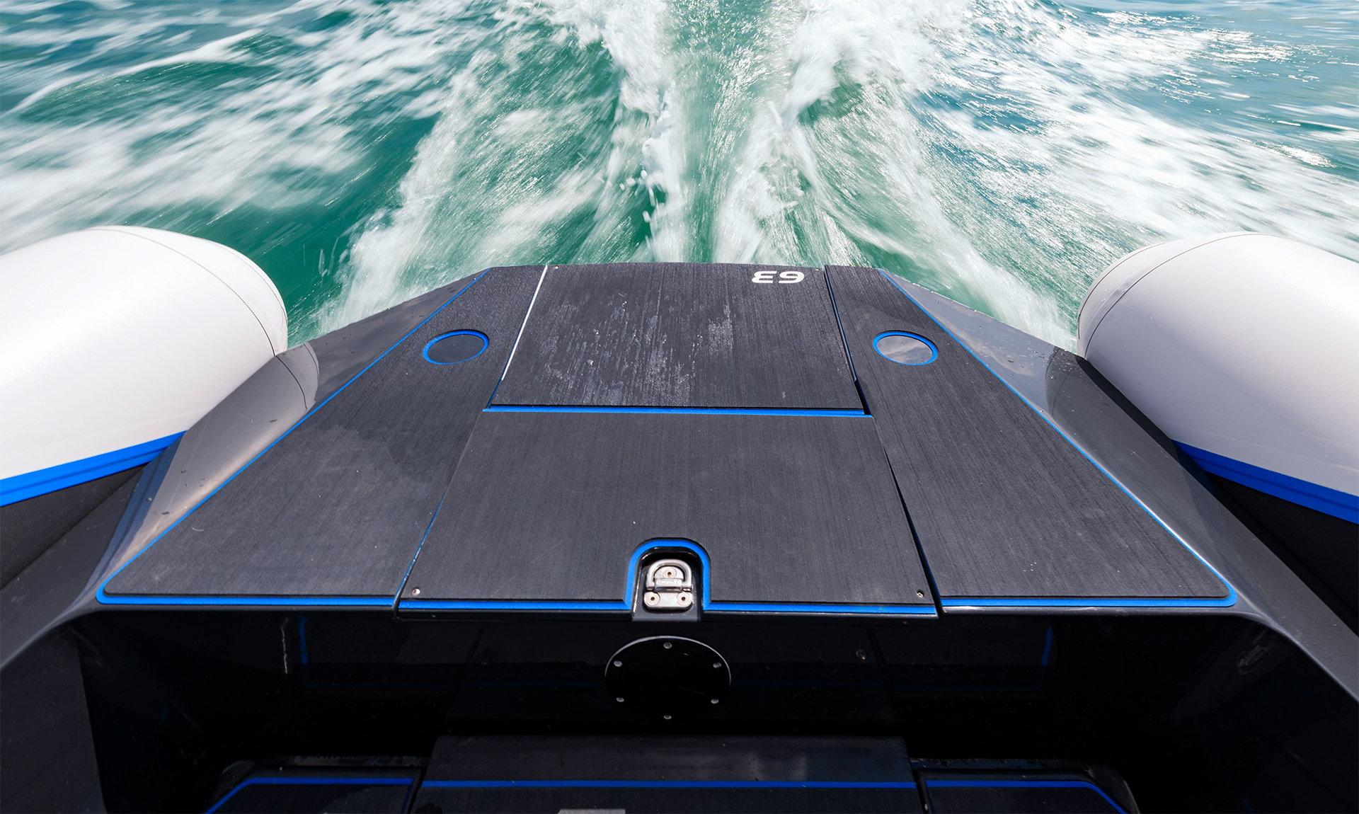 Pulse 63 RIB - RS Electric Boats - Propulsion