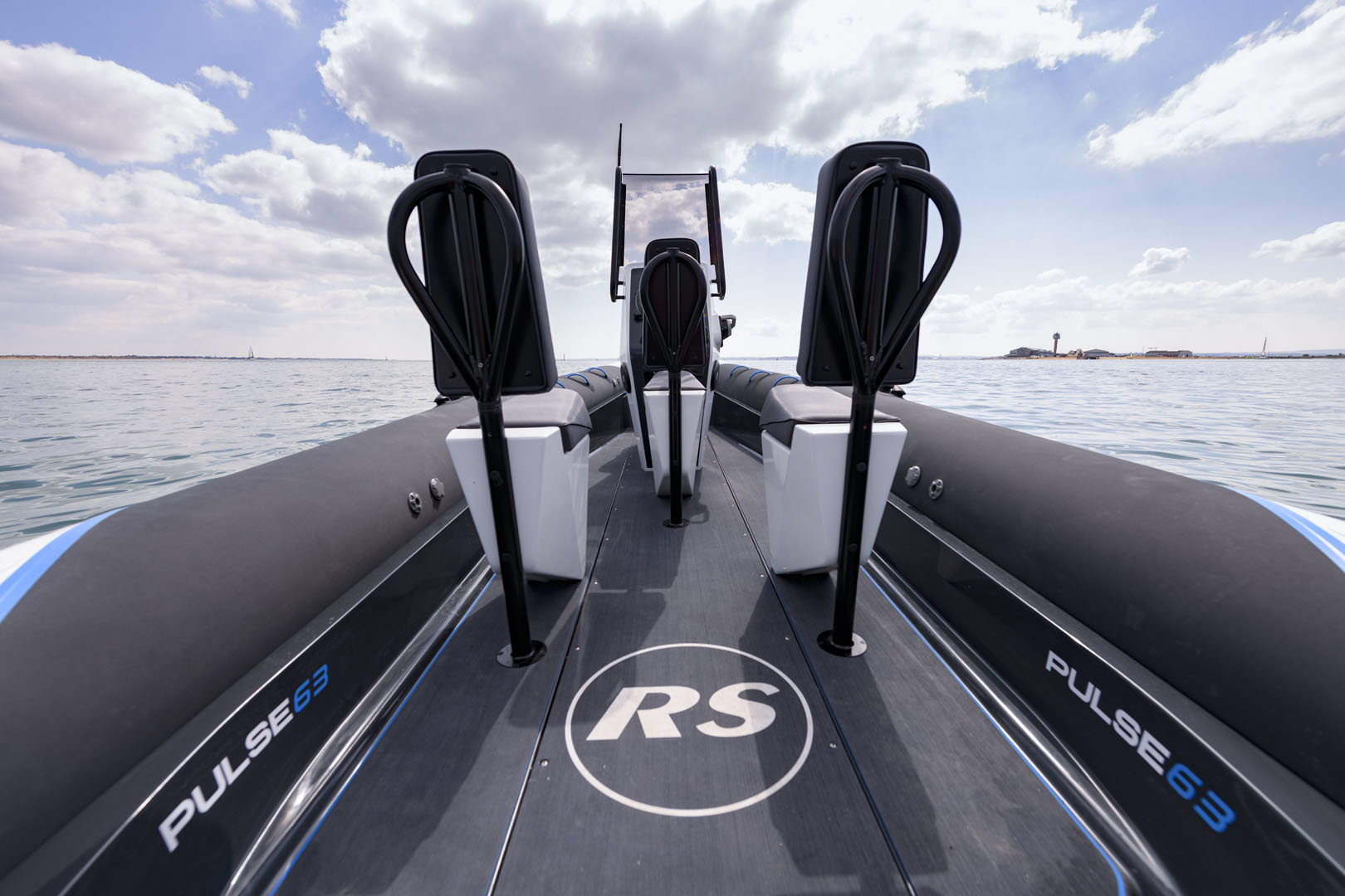 ECO Electric Boat - Pulse 63 RIB - RS Electric Boats - Seating