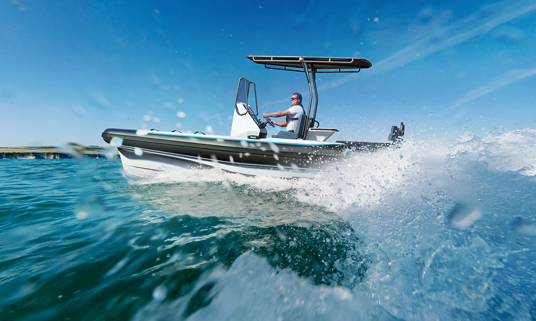 Electric Boat - Pulse 63 RIB - RS Electric Boats - Leisure Boat Performance