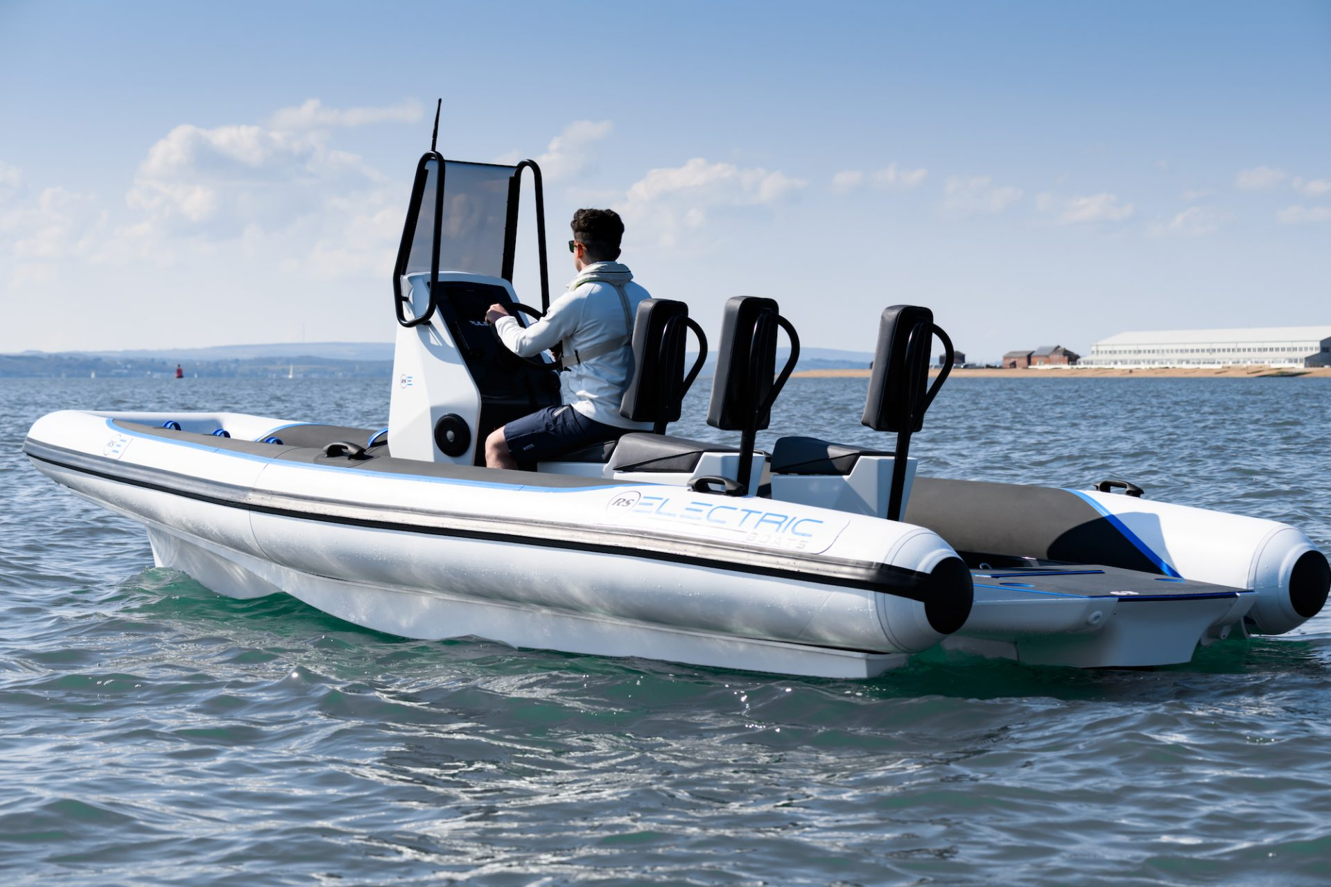 Pulse 63 Electric RIB - RS Electric Boats - Glimmer